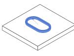 闭合环加强板-半圆边界