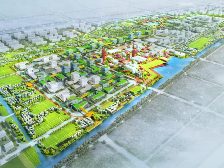 [浙江]杭州梦想旅游小镇概念规划设计(生态,田野)