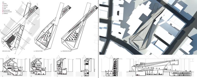 哈佛大学设计研究院建筑学学生作品