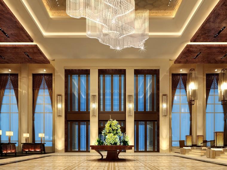 [辽宁]金螳螂设计——豪华中式五星级大酒店室内设计方案