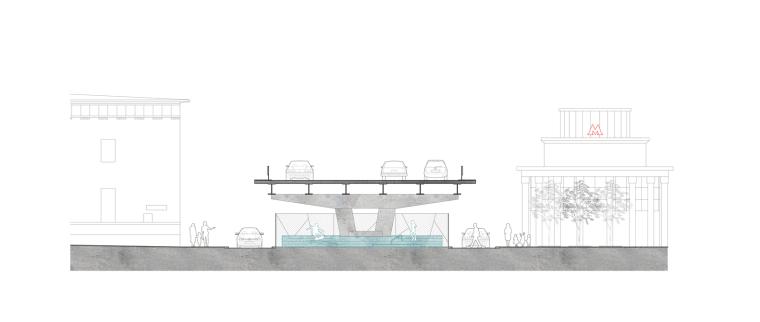 克雷姆斯基大桥的滑板公园-11