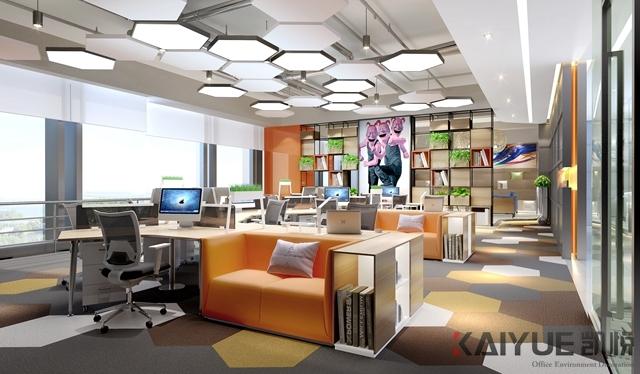 搜狐公司广州新办公室装修设计项目_2
