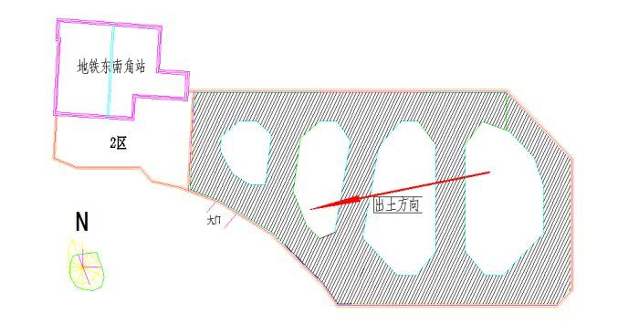 临地铁16.5m深基坑,支护设计及基坑开挖设计方案_8