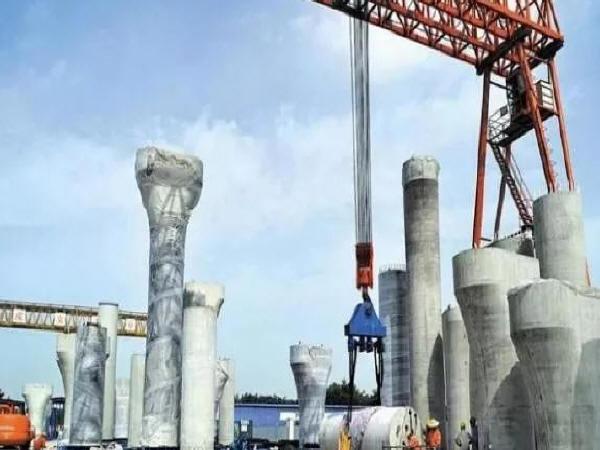 成都首个预制装配式桥梁工程主体结构贯通