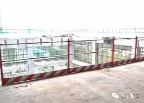 中建内部项目施工现场,安全文明施工样板工地_10