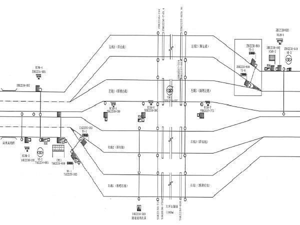 高速公路隧道机电设施完善二期工程图纸93张(附技术标准387页)