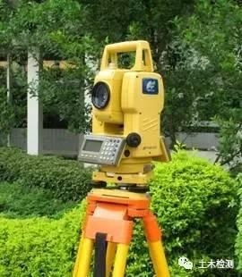 全站仪观测点时棱镜偏移的误差