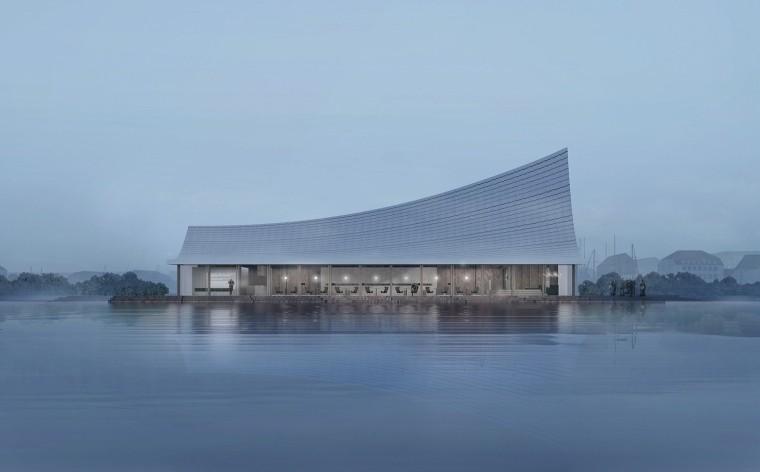 成都兴隆湖书店设计