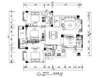 现代个性家居住宅CAD施工图(含效果图)
