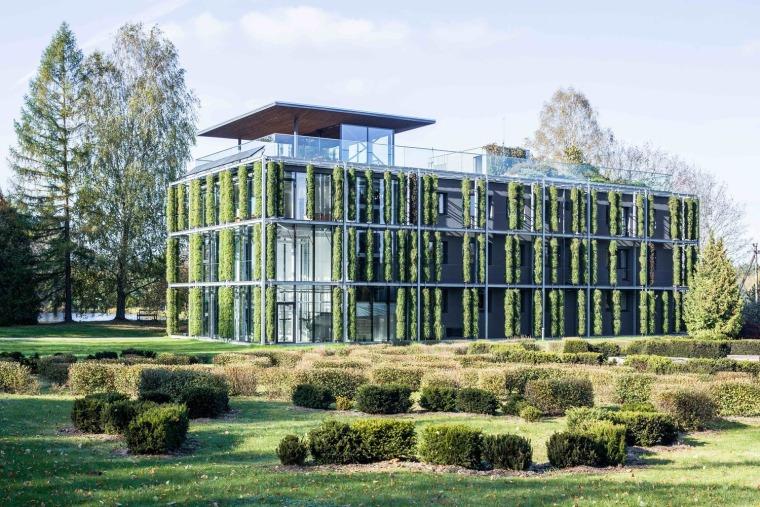 立陶宛维尔纽斯大学植物园实验室大楼