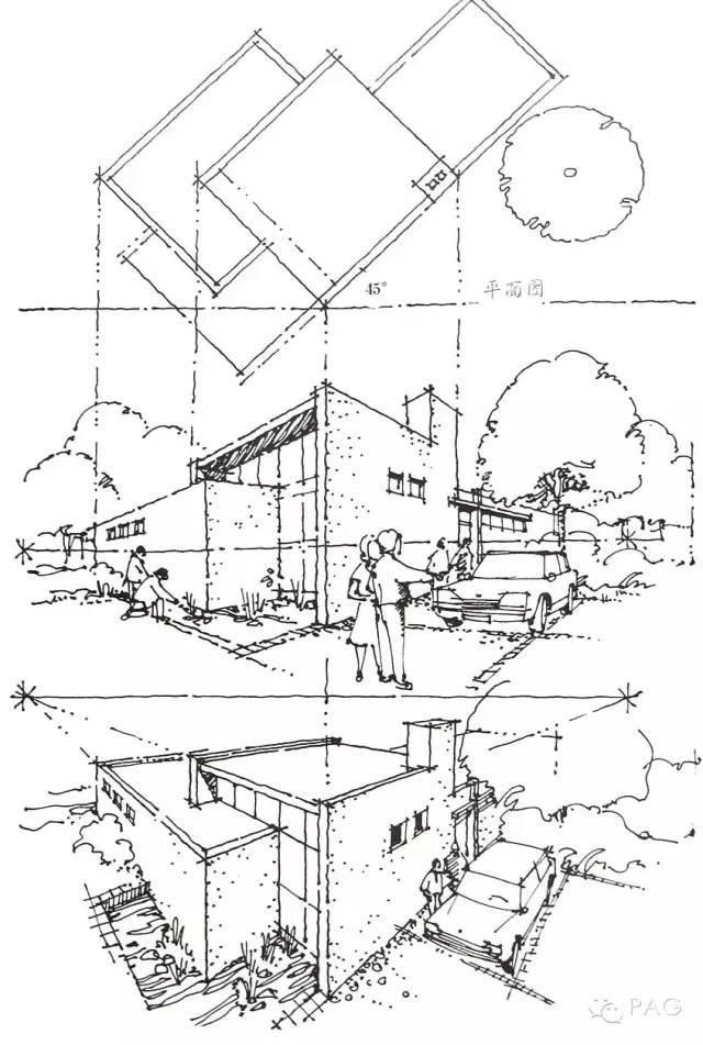建筑透视的画法揭秘