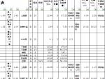 框架梁平法钢筋工程量统计表(模板)