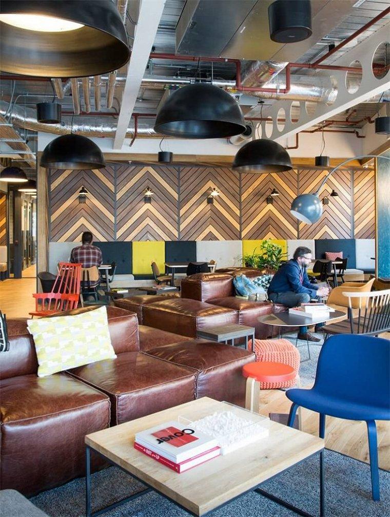 咖啡厅风格的联合办公空间-帕丁顿区WEWORK联合办公室室内实景图 (5)