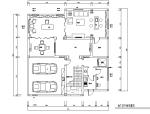 [江苏]美式古典风格500平米联体别墅设计施工图(附效果图)