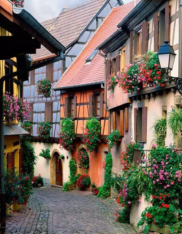 世界上最美的7个鲜花小镇子,这辈子一定要去一次!_17