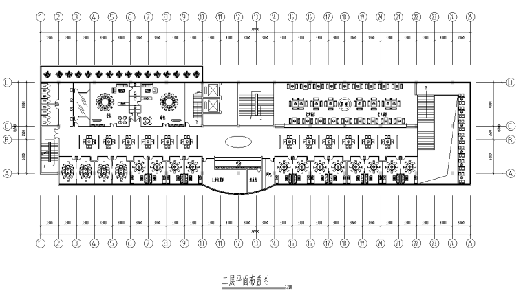 中式风格火锅餐饮链锁店设计图(含32张图纸)