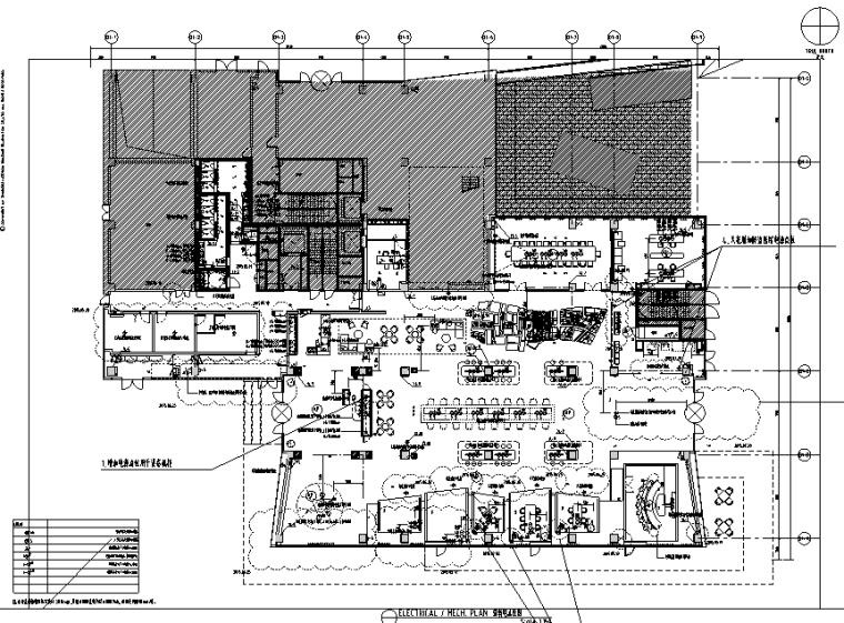 [上海]知名地产御河硅谷售楼空间设计施工图(附效果图+软装方案)-强弱电点位图