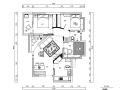 [湖北]兰亭都荟托斯卡纳美式三居室住宅设计施工图(附效果图)