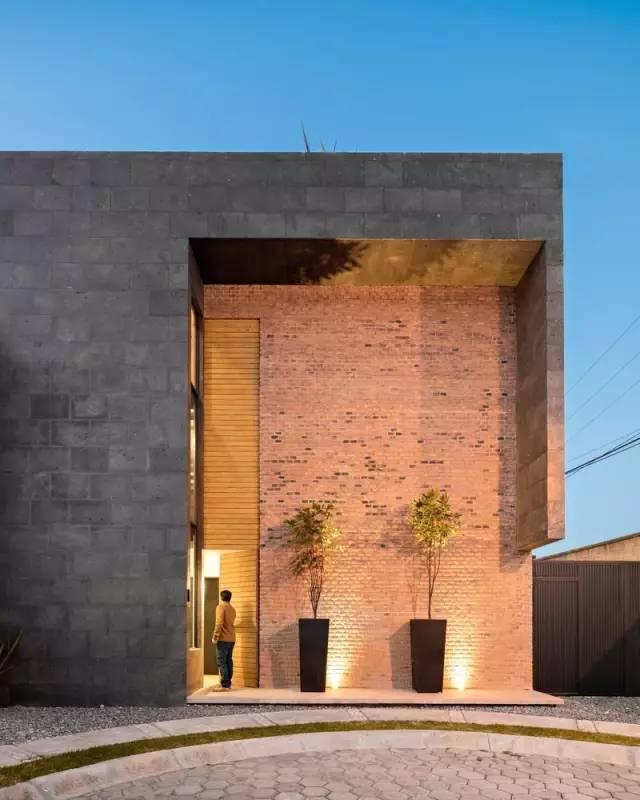 超有设计感的建筑入口_21