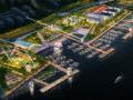 [上海]徐汇滨江城市规划景观设计方案(滨水商业,海绵城市)