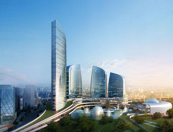 [广西]大型城市综合体建安工程量清单计价实例(施工合同图纸)