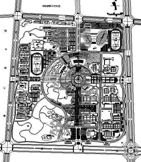 湖南某学院修建性详细规划