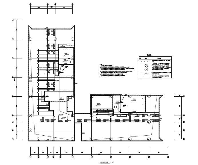 深圳高层办公楼项目电气施工图