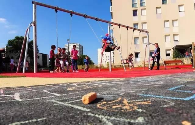 儿童景观|铺装设计