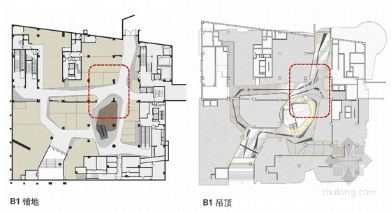 [深圳]精品高级休闲现代风格商业空间室内设计概念