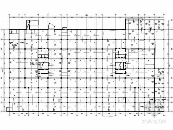 [北京]6.37万平米框架核心筒商业综合楼结构施工图
