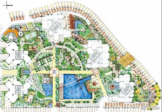 各类园林景观方案平面75个