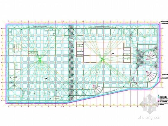 [天津]13米深基坑排桩加圆形内支撑支护施工图