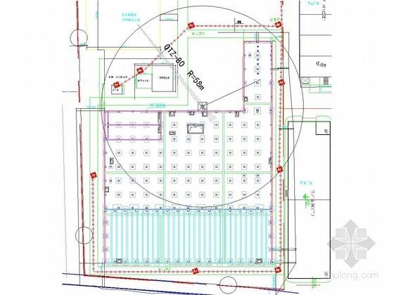 [上海]基坑SMW工法及钢抛撑支护施工方案(附施工图)