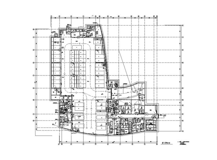 上海市胸科医院室内装修设计施工图(102张)