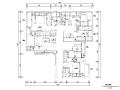 中央华城台湾风145平米住宅设计施工图(附效果图)
