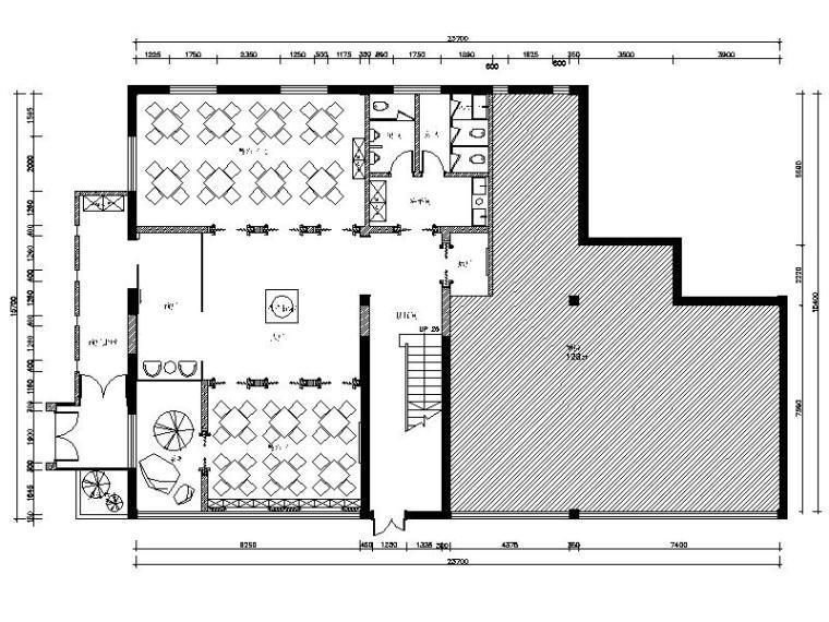 [乌鲁木齐]超详细的特色高档餐厅设计施工图