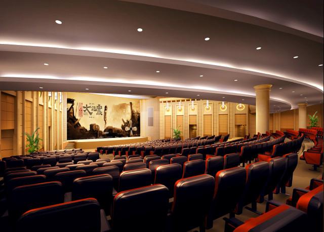 观众厅角八_副本-钢花影剧院设计方案第2张图片