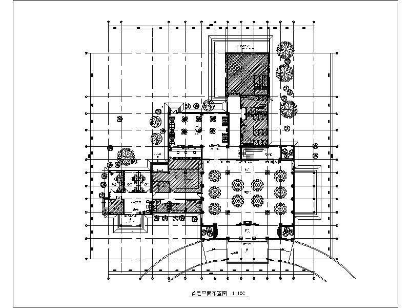 知名高尔夫球会所设计施工图_1