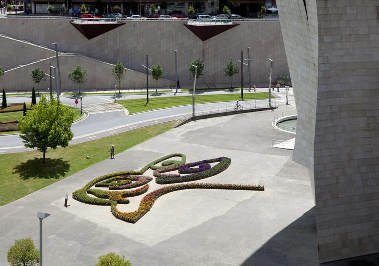 西班牙城市花坛