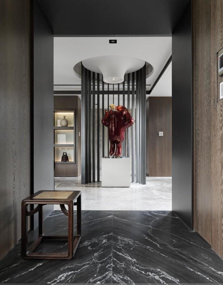 混搭风格的住宅空间-8