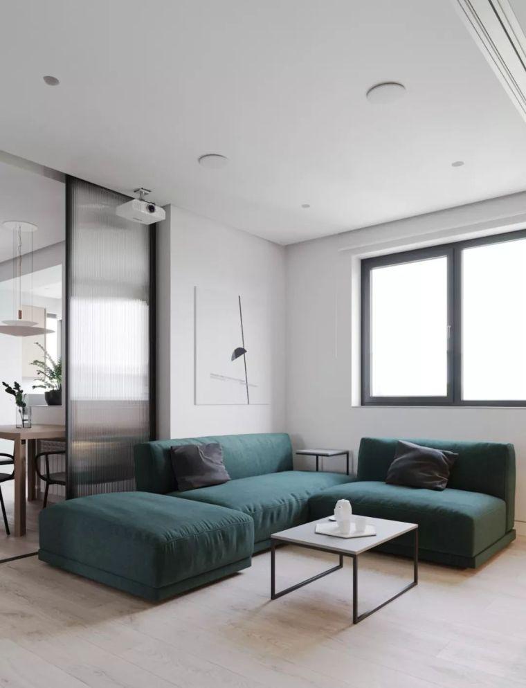 3个不到60平的小公寓,阳台、餐厅都能变书房