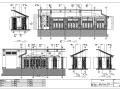 三亚某五星级酒店全日餐厅室内设计施工图
