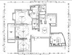 黑白空间住宅设计施工图(附效果图)