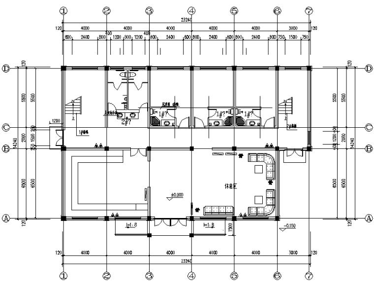 浙江游客中心给排水设计施工图