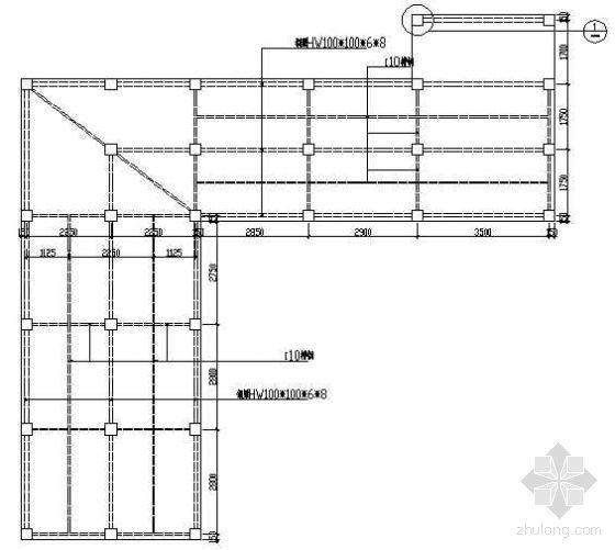 木平台及栏杆详图