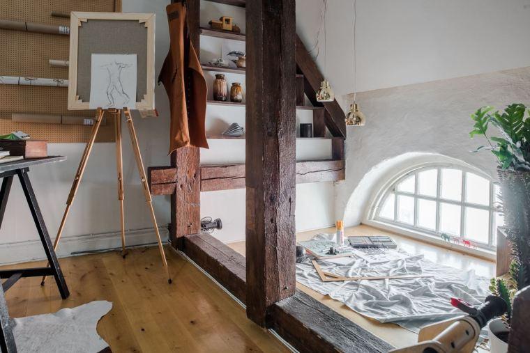 斯德哥尔摩顶层公寓改造-1 (11)