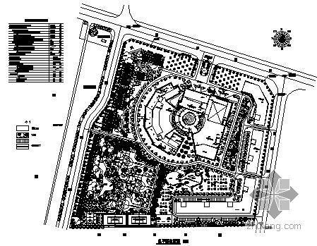 福建酒店环境景观方案及施工图