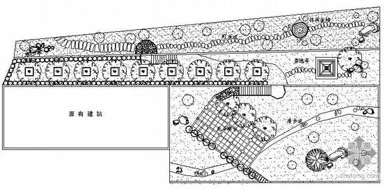 住宅小区环境景观规划设计图纸