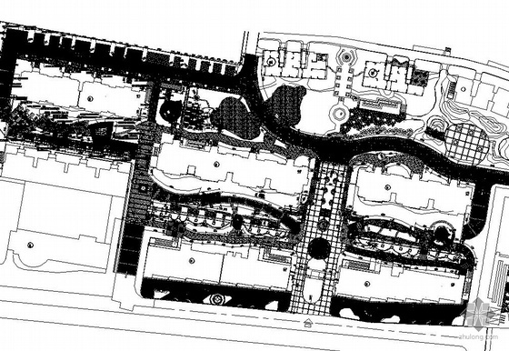 南京某居住区景观设计施工图