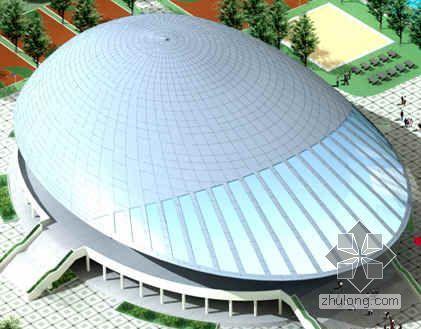 [惠州]体育馆钢结构网架施工组织设计